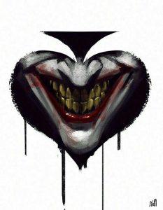 joker spade tattoo idea